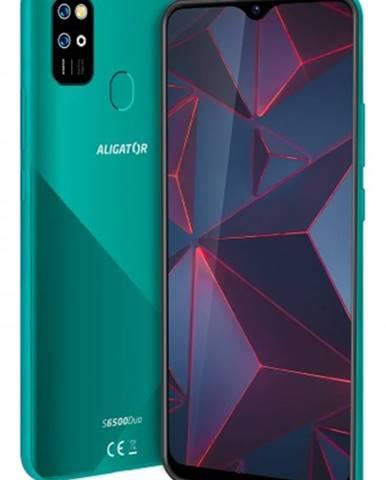 Mobilný telefón Aligator S6500 Duo 2GB/32GB, zelená