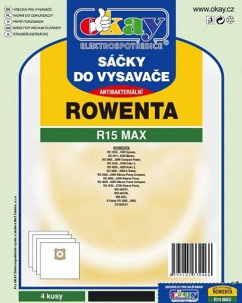 Jolly Vrecká do vysávača Rowenta R15 MAX, 8ks