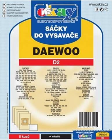 Vrecká do vysávača Daewoo D2,10ks