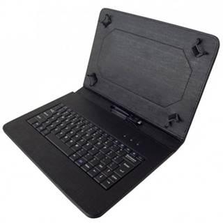 """Kožené puzdro s klávesnicou iget S10B pre tablet 10"""", čierne"""