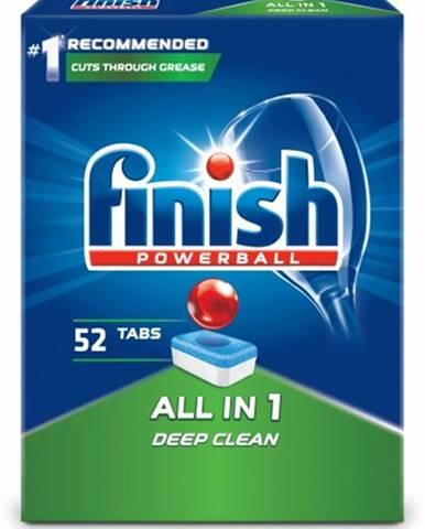 Tablety do umývačky Finish 3053523, All in 1, 52ks
