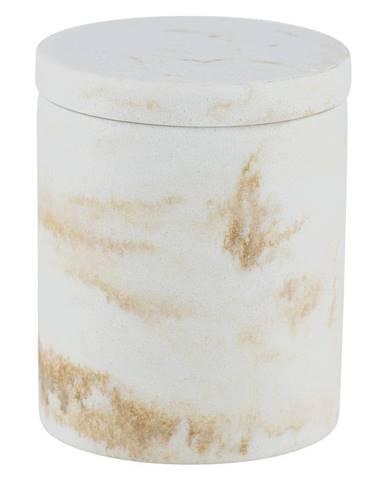 Biely úložný box Wenko Odos, ⌀ 8,5 cm
