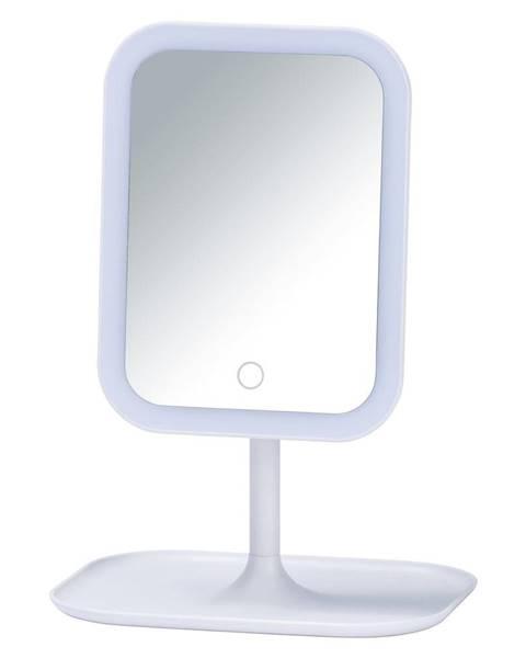 Wenko Biele kozmetické zrkadlo s LED podsvietením Wenko Bertolio