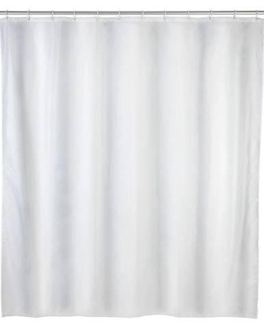 Biely sprchový záves odolný voči plesniam Wenko, 120 x 200 cm