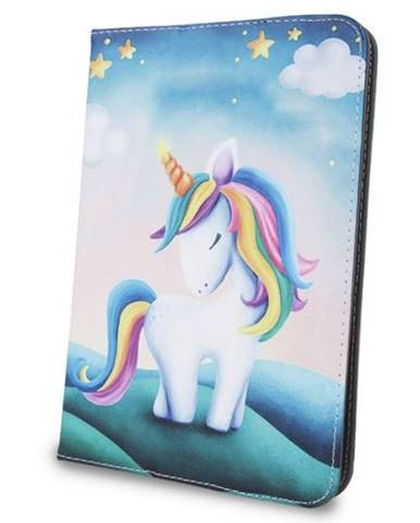 Púzdro na tablet flipové GreenGo Unicorn na tablet 7-8""