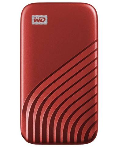 SSD externý Western Digital My Passport SSD 2TB červený