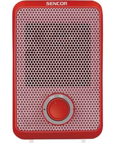 Teplovzdušný ventilátor Sencor SFH 6011RD červen