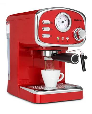 Klarstein Espressionata Gusto, espresso kávovar, 1100W. 15 Bar tlak