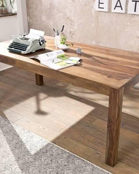Bighome.sk ROUND Jedálenský stôl Klasik 178x90 cm, hnedá, palisander