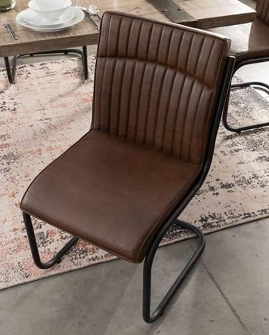 DARKNESS kožená stolička