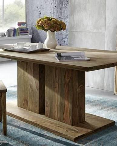 NATURAL Jedálenský stôl Simple 175x90 cm, palisander