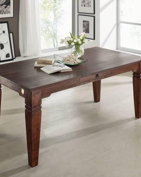 Bighome.sk CAMBRIDGE Jedálenský stôl 140x90 cm, akácia