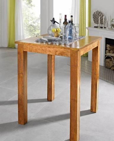 CAMBRIDGE HONEY Barový stôl 85x85 cm, akácia