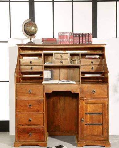 CAMBRIDGE HONEY Písací stôl 128x58 cm, akácia