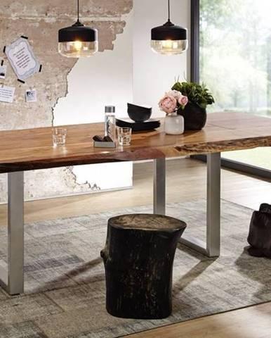 METALL Jedálenský stôl 160