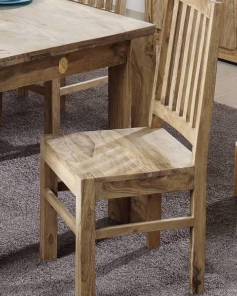 Bighome.sk LIGHT WOOD Jedálenská stolička drevená, palisander