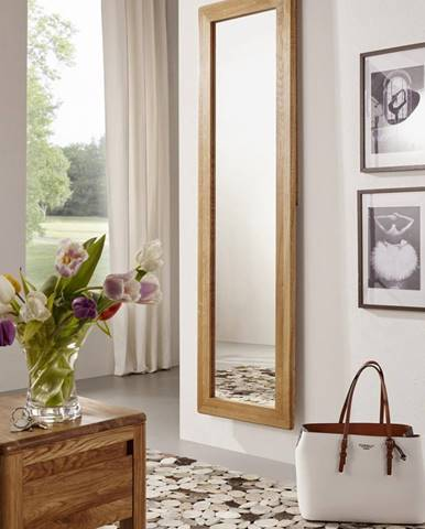 BRISBANE Zrkadlo 50X175 cm, dub