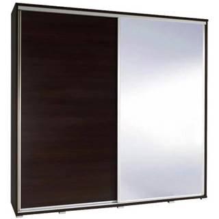 Skriňa Penelopa 205 cm zrkadlová