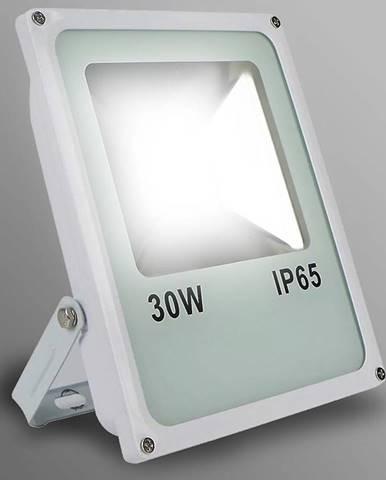 Biely LED reflektor 20W IP65 1600LM 4000K EK724