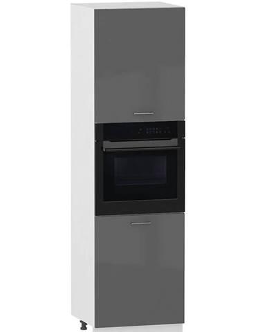 Skrinka do kuchyne Alvico D60PK/2133 P/L antracita BB
