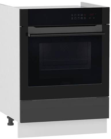 Skrinka do kuchyne Alvico DK60 S/1 antracita BB
