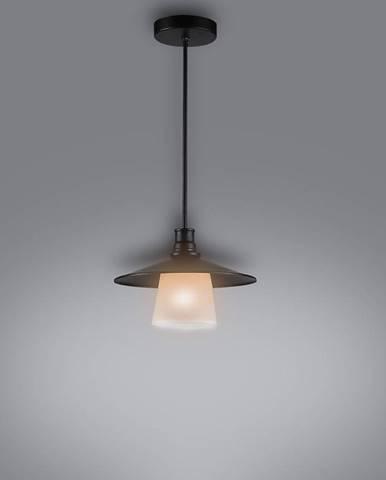 Loft Závesné svietidlo 1x60w E27 Čierna