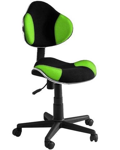 Kancelárska stolička CX 4113G zelená