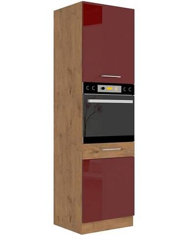 Skrinka do kuchyne Vigo bordová HG 60dp-210 2f