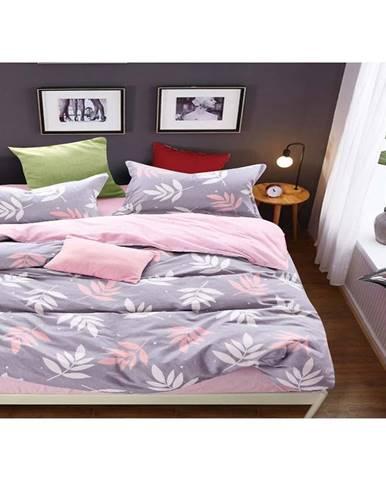Bavlnená saténová posteľná bielizeň albs-01034b/2 140x200 lasher