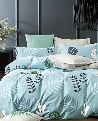 Bavlnená saténová posteľná bielizeň ALBS-01191B/2 140x200