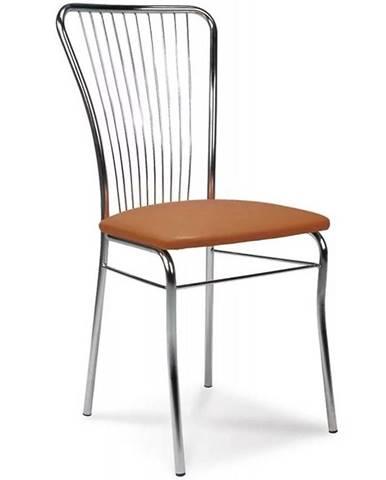 Stolička neron hnedá CHR V-49
