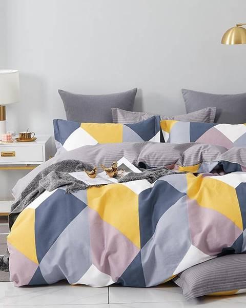MERKURY MARKET Bavlnená saténová posteľná bielizeň ALBS-01224B 160X200