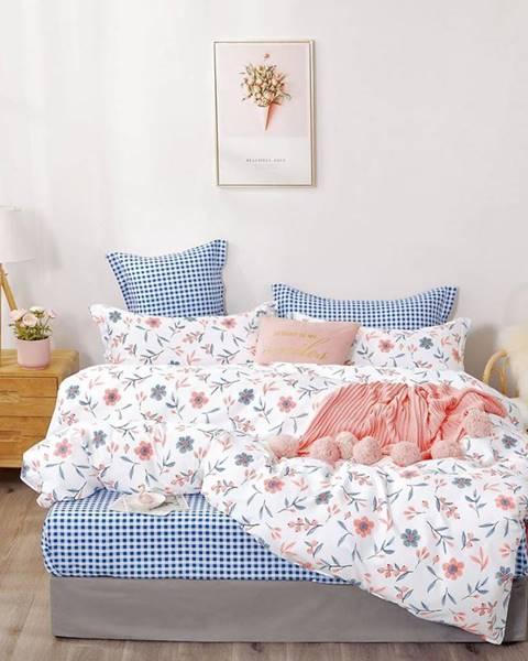 MERKURY MARKET Bavlnená saténová posteľná bielizeň ALBS-01200B