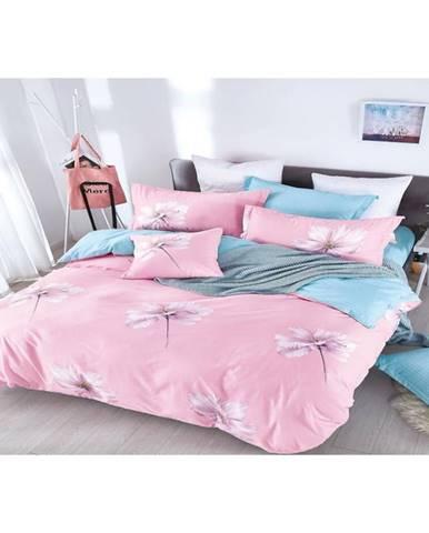 Bavlnená saténová posteľná bielizeň  ALBS-01150B/2 140X200 Lasher