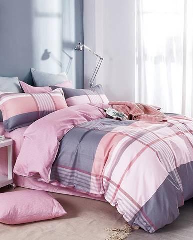 Bavlnená saténová posteľná bielizeň ALBS-01152B/2 140X200 Lasher