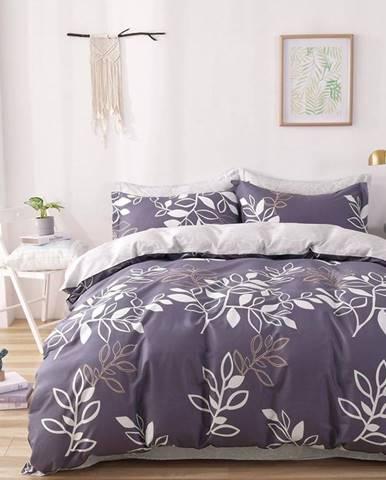 Bavlnená saténová posteľná bielizeň ALBS-01154B/2 140X200 Lasher