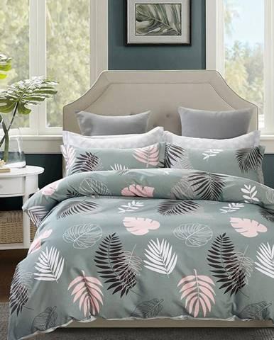 Bavlnená saténová posteľná bielizeň ALBS-01155B/2 140X200 Lasher