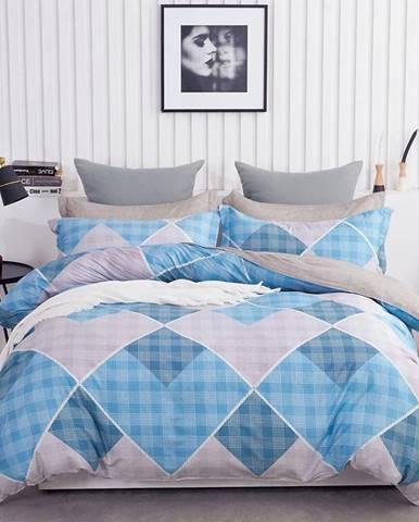 Bavlnená saténová posteľná bielizeň ALBS-01157B/2 140X200 Lasher