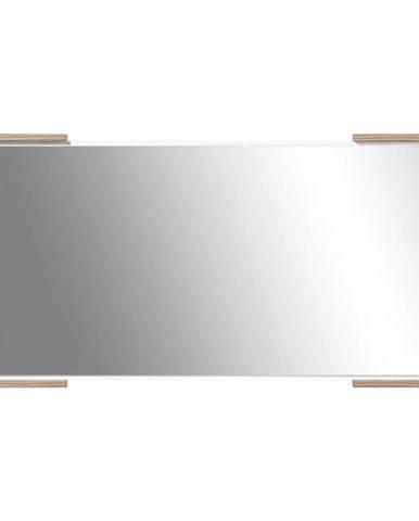 Zrkadlo Morena biela Lux/orech Baltimore