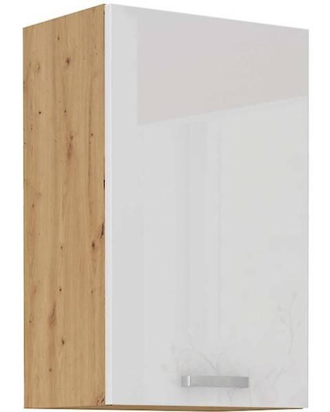 MERKURY MARKET Skrinka do kuchyne ARTISAN biela lesklá 45G-72 1F
