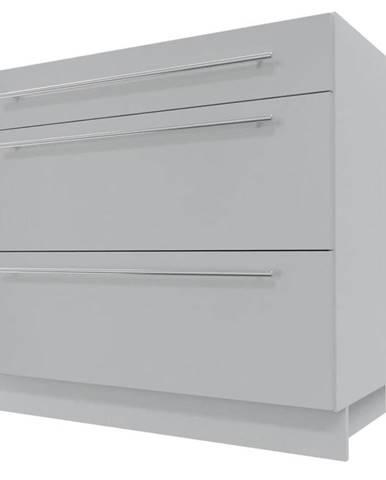 Skrinka do kuchyne Essen grey D3E/90