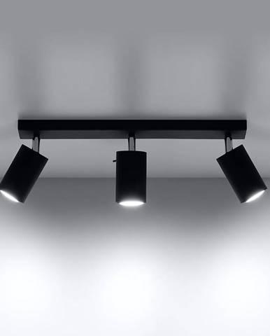 Stropná Lampa Oregon 3 BLACK A-093