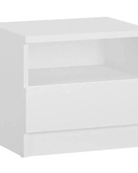 MERKURY MARKET Nočná skrinka Boston Bos K12 1S biely