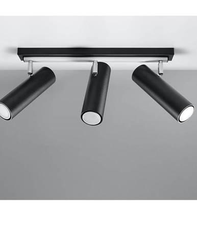 Stropná Lampa Indiana 3 BLACK A-501