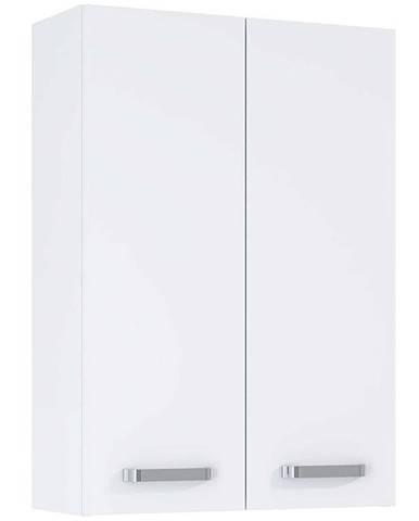 Závesná kúpeľňová skrinka Uno 50 2D white