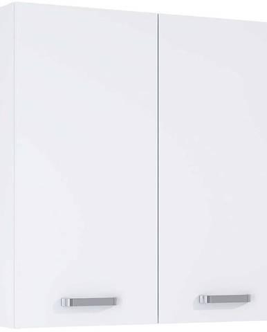 Závesná kúpeľňová skrinka Uno 70 2D white