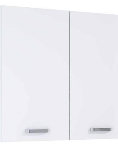 Závesná kúpeľňová skrinka Uno 80 2D white