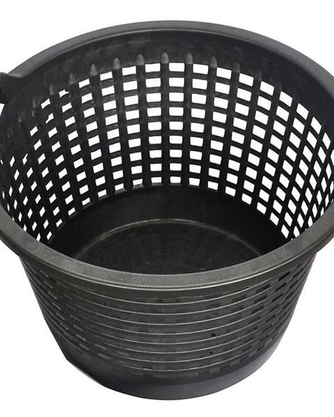 MERKURY MARKET Záhradný košík čierny 500 mm