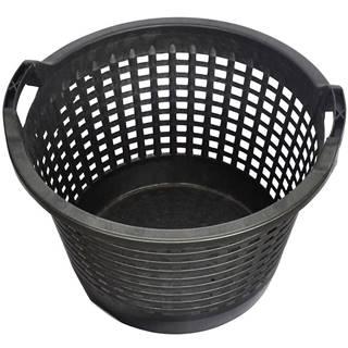 Záhradný košík čierny 500 mm
