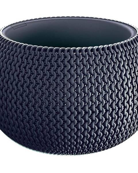 MERKURY MARKET Kvetináč Splofy Bowl Antracit DKSP180-S433